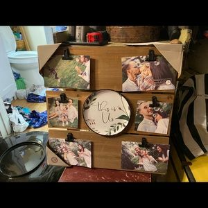 New rustic pic frame